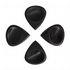 Jazz Tones Groove Black Horn 4 Guitar Picks